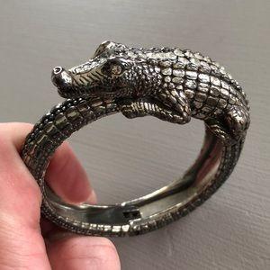 Brighton crocodile cuff bracelet